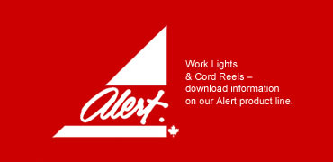 Alert Work Lights & Cord Reels